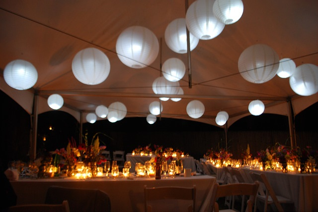 Great Outdoor Party Lighting Rental By EOS Lighting Consultants Metro Miami  Florida