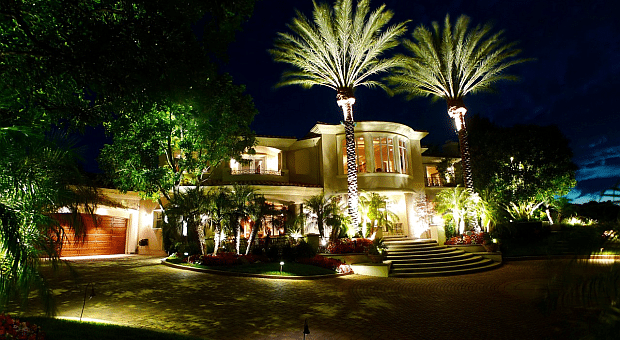 Residential Landscape Lighting Adds Security And Style