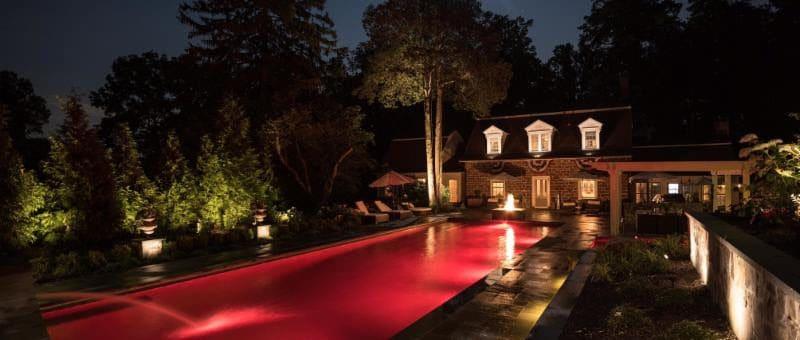 Landscape lighting design tips