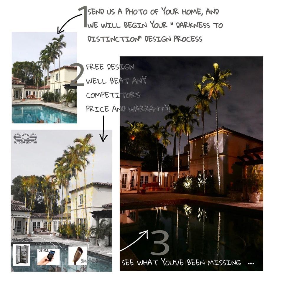 Landscape Lighting Design Services in Miami