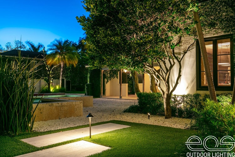 Residential Outdoor Lighting Miami